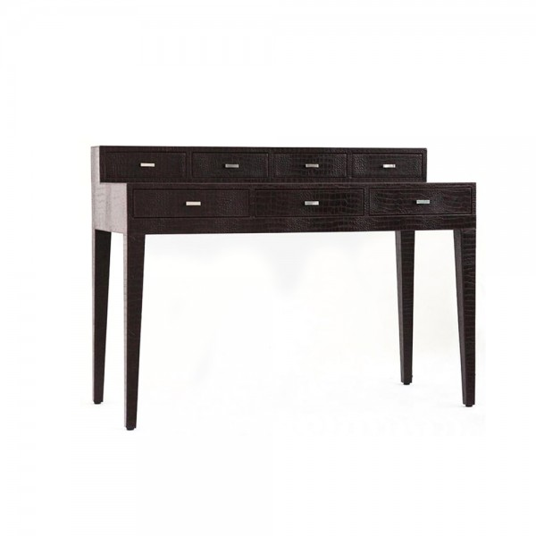 FL024 - 2 Floor leather Working table