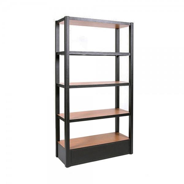 S0107 - Natee Book Shelf - Leather x Wood