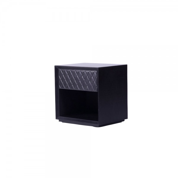 T0049 - Corus Leather Side Table