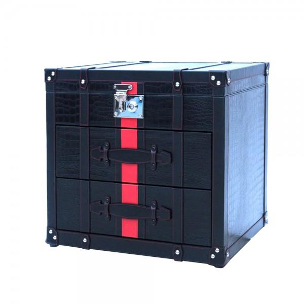 T0034/1 - Crocodile skin side storage box