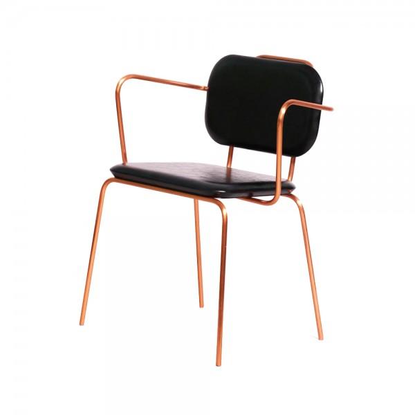 C0021 - Horus Classic Chair arm rest x Copper