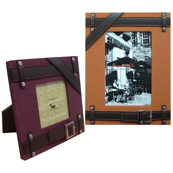 9368/21,9367/5 | PHOTO FRAME WITH BELT