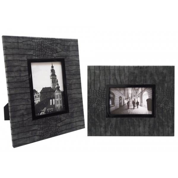 11167/4 | Faux Crocodile Photo Frame