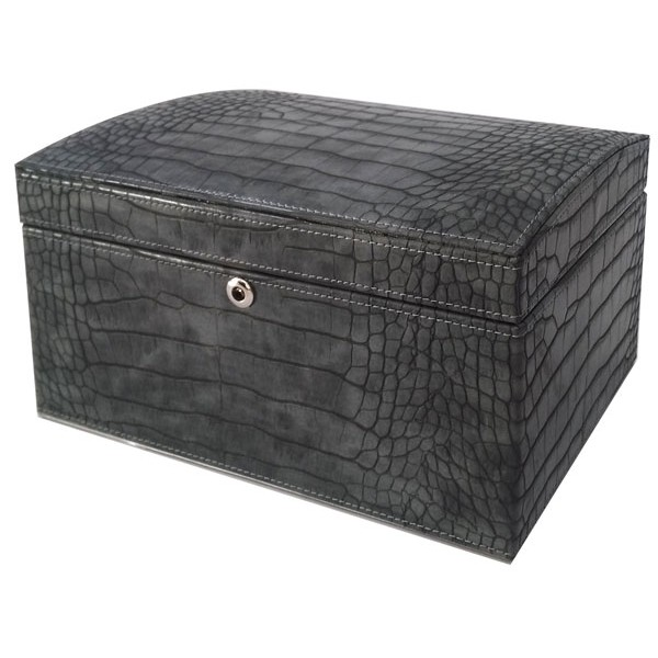 W0129 | Faux Crocodile Jewelry box