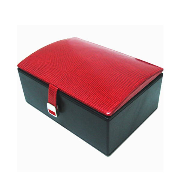W0135 | Red Lizard Jewelry Box