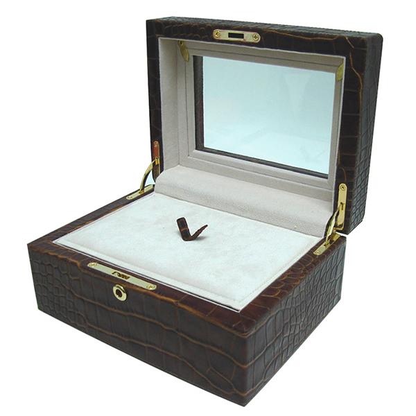 C0351 | Jewelry Box Set Croco Skin