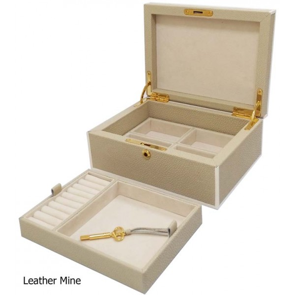 11680 - Cow leather Jewelry box