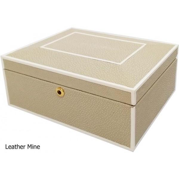 11680 - Cow leather Jewelry box