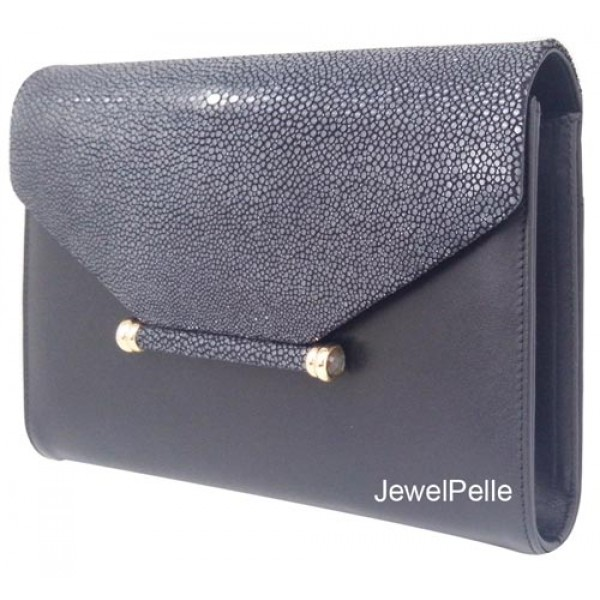 HB0424 - Shagreen bag clutch