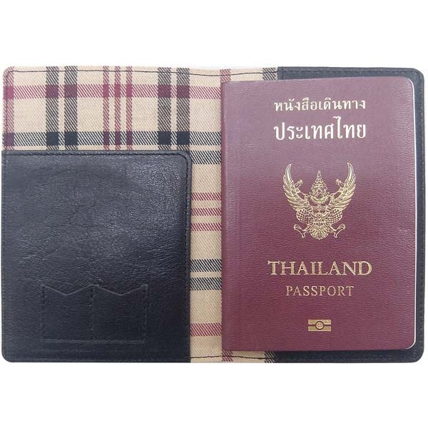 2772 | Passport holder with scout Pattern