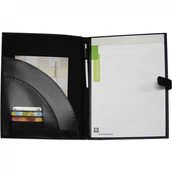 4891/3 | A4 Folder double black