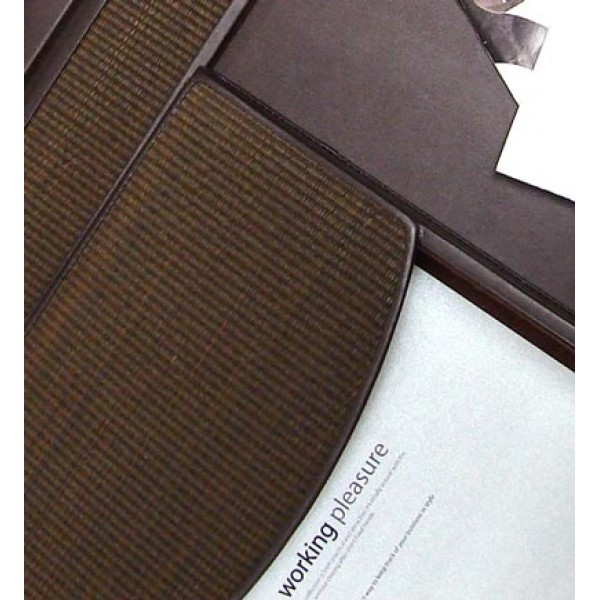DS116 | Desk set Tatami Brown